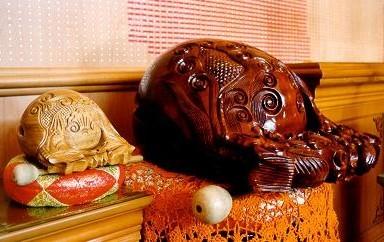 Wooden fish instrument